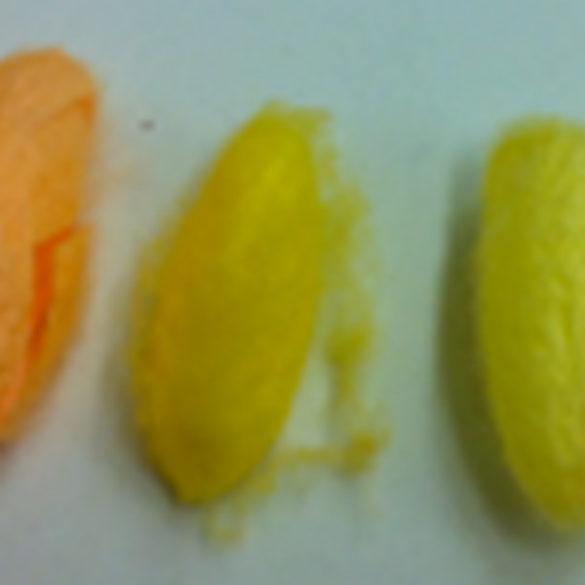 Le proteine della seta colorate
