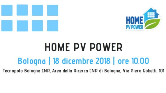 Seminario conclusivo del progetto HomePVPower