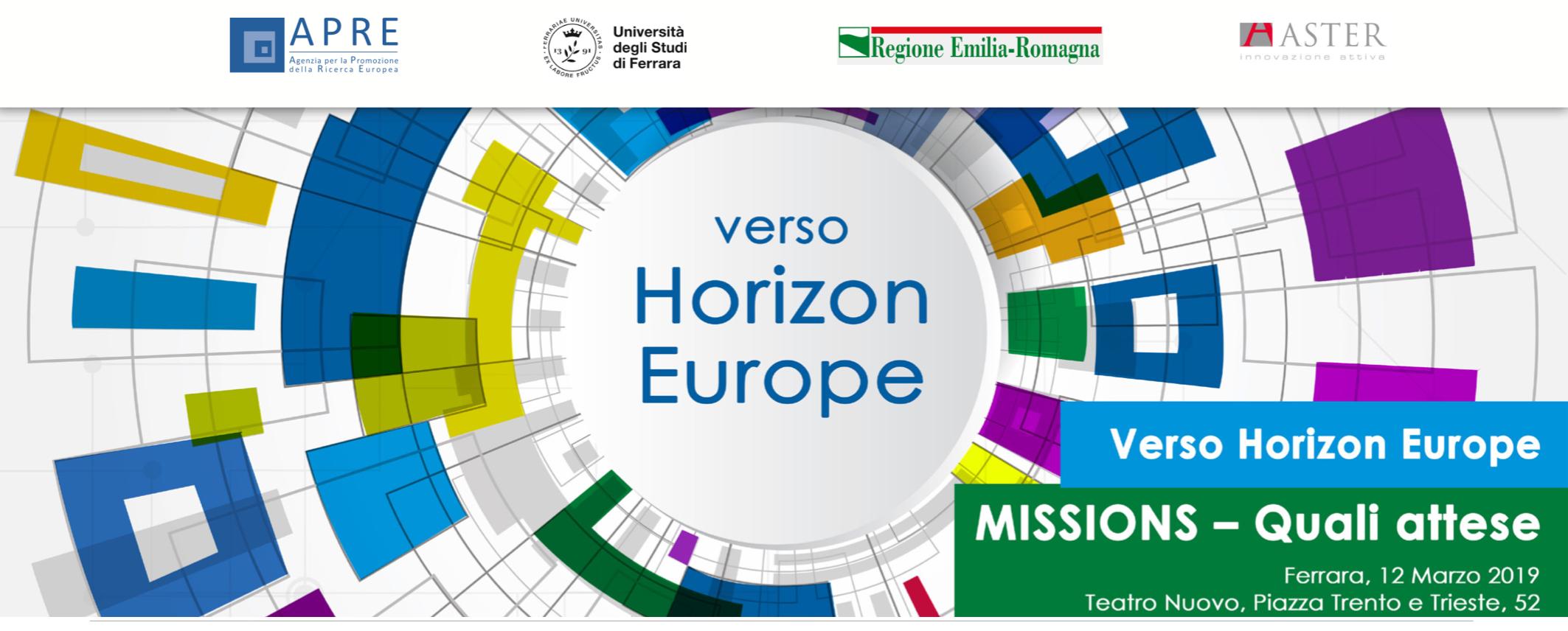 Verso Horizon Europe: il Presidente Muccini tra i relatori