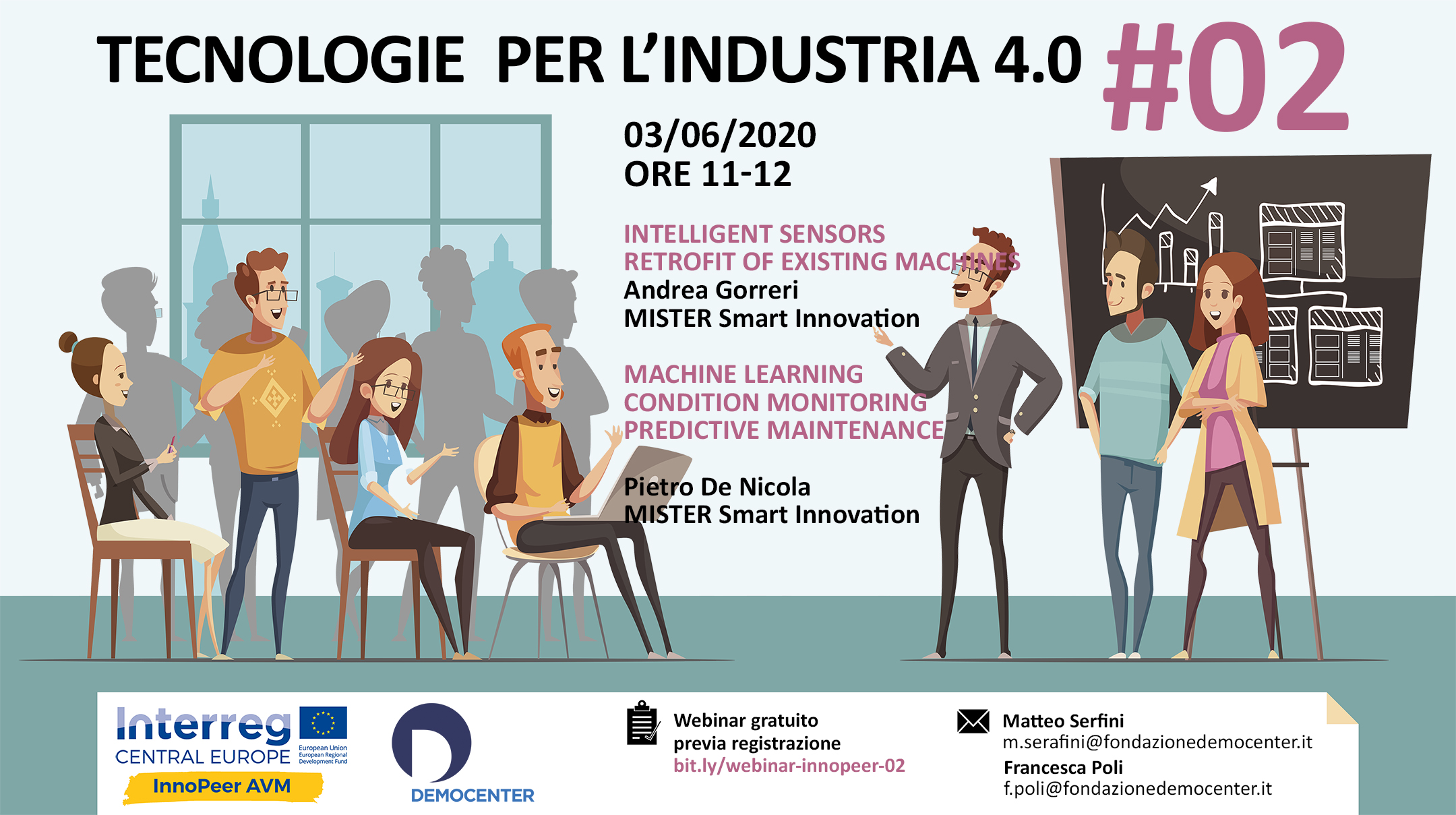 Tecnologie per l'Industria 4.0: il 3 giugno webinar con Mister