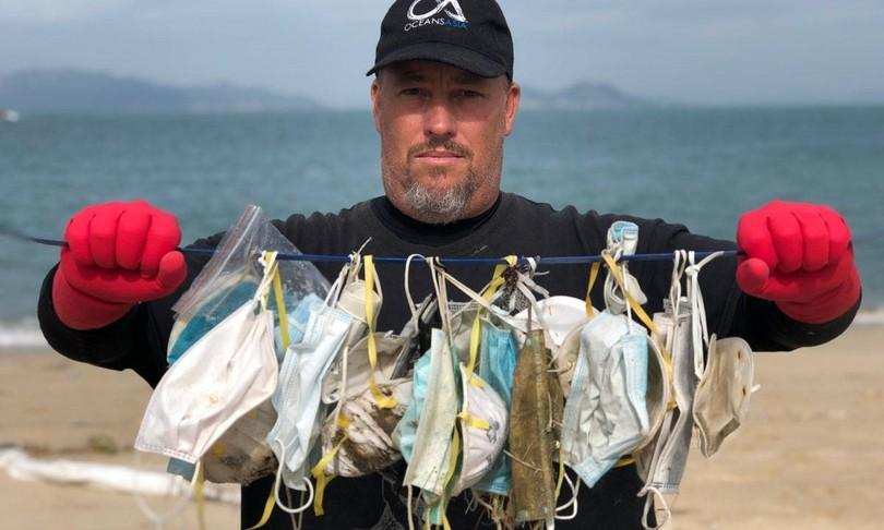 Mascherine dannose ambiente marino