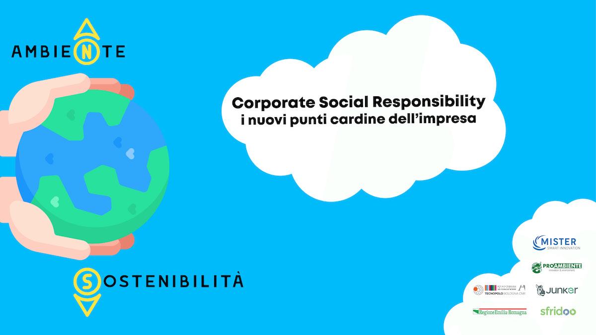 Corporate Social Responsibility e tecnologia: tavola rotonda digitale il 23 giugno