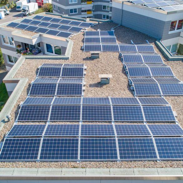 Drone per monitoraggio impianti fotovoltaici