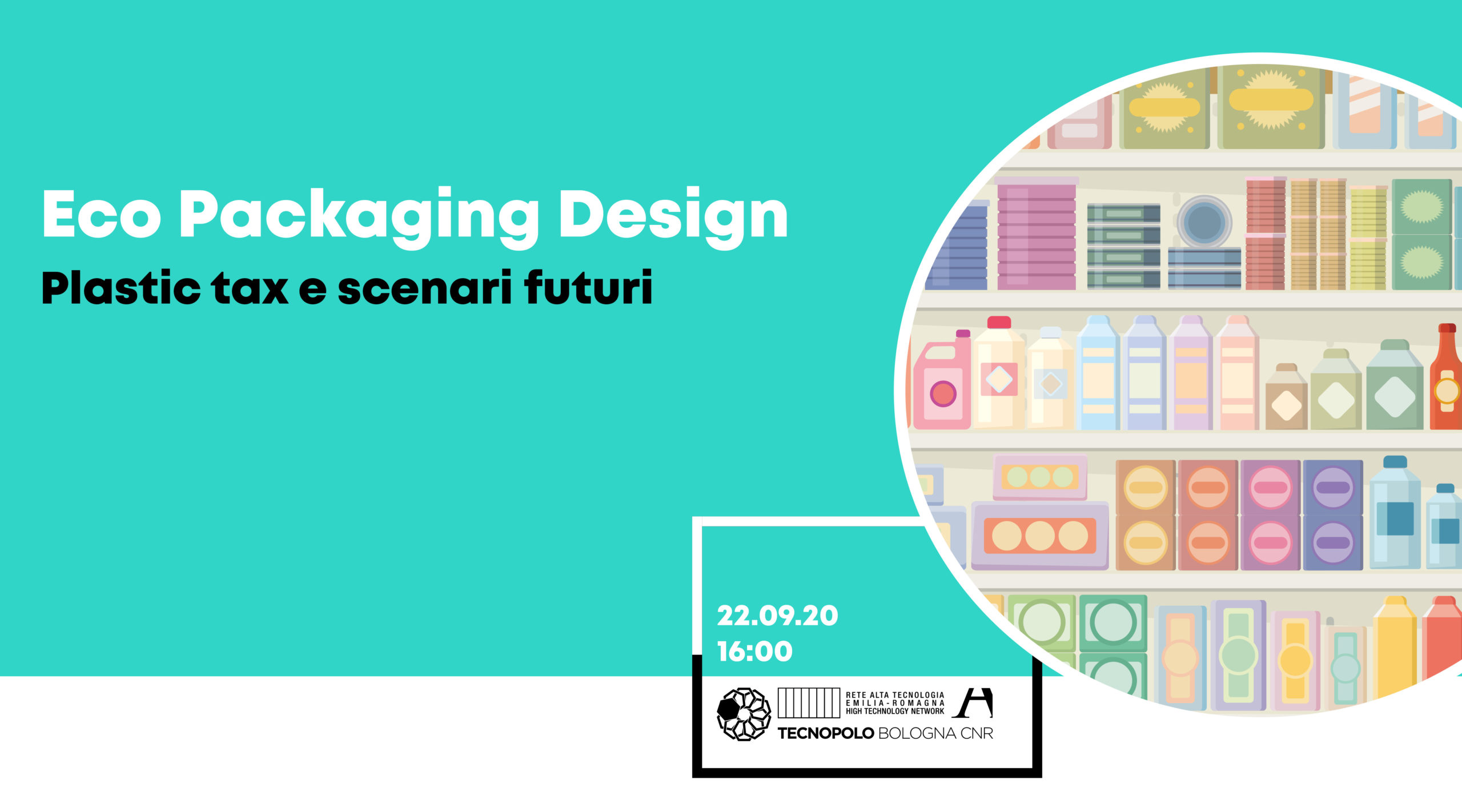 Eco packaging design: evento digitale il 22/09. Iscriviti adesso!